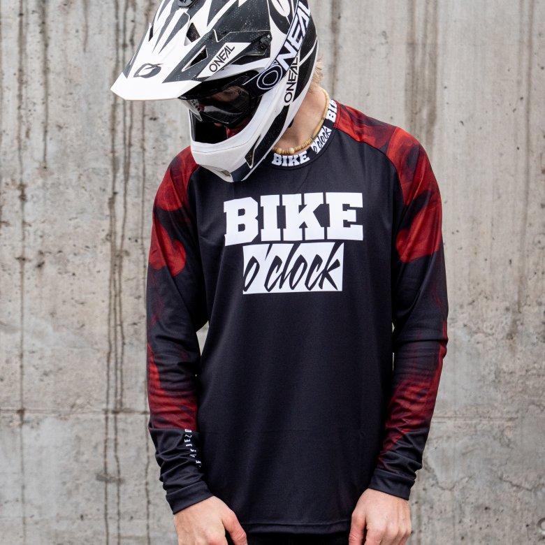 """Dětský Dres Bike O'Clock - """"Jersey Smoke Limited"""""""
