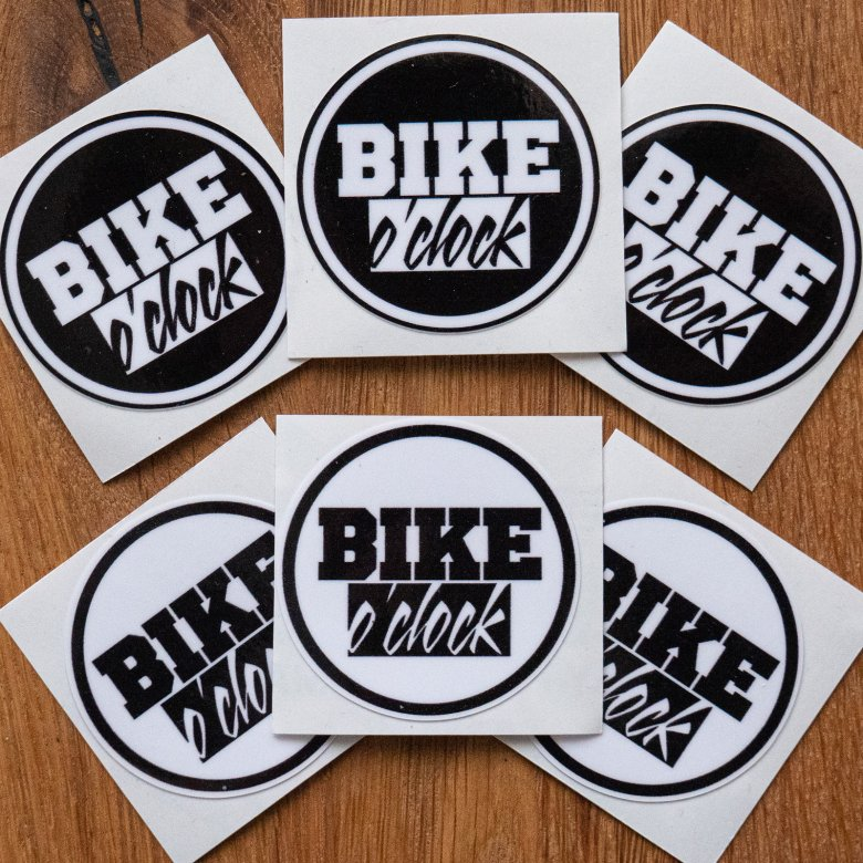 "Set nálepek Bike O'Clock - ""Stickers set 6ks"""