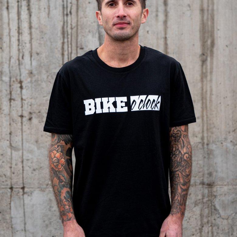 """Tričko Bike O'Clock - """"Classic Tee"""""""